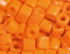 Z192042D 192042D Cuentas japonesas cubo opaco naranja Toho