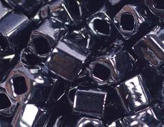 Z192081 192081 Cuentas japonesas cubo metalico gris Toho