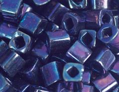 Z192082 192082 Cuentas japonesas cubo metalico azul multicolor Toho