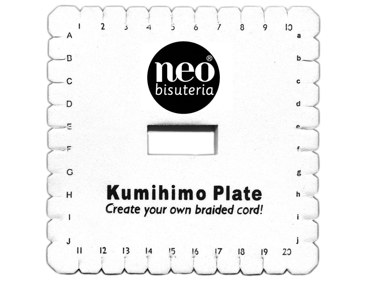 Disco Kumihimo cuadrado Maquinas 20002