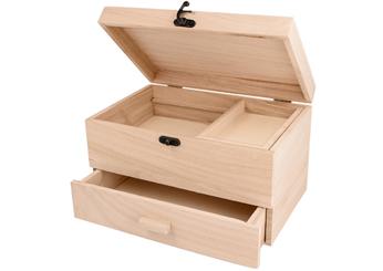 201 Costurero madera balsa con cajon Innspiro - Ítem1