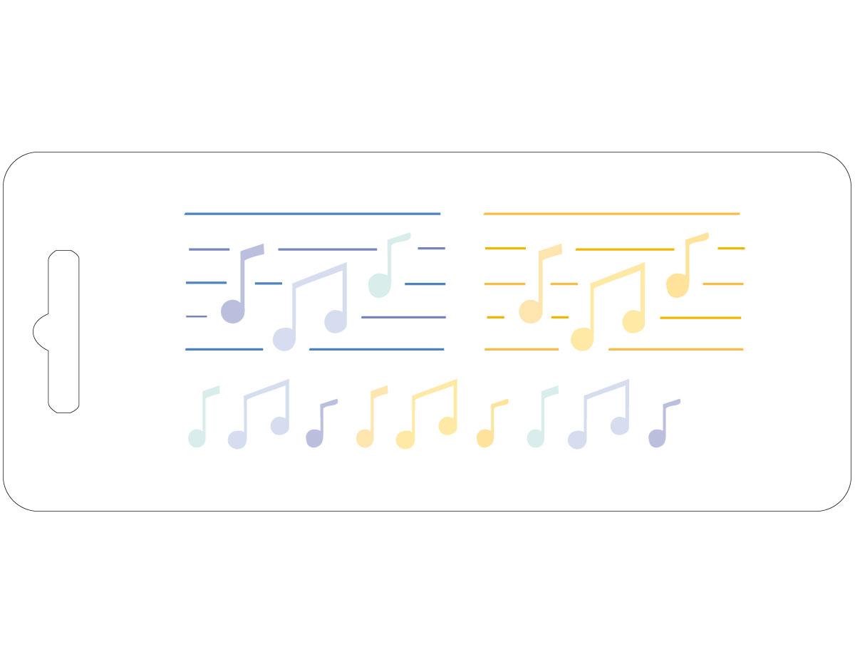20318 Plantilla notas musicales Innspiro