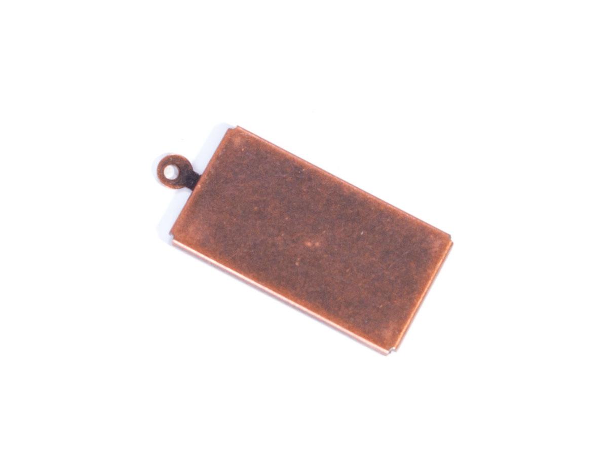 206016 206015 206014 A206014 A206015 A206016 Figura montaje metalica base rectangular cobriza envejecida Innspiro