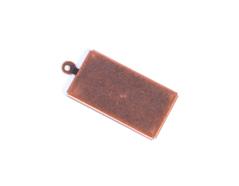 206016 206015 206014 A206014 A206015 A206016 Figura montaje metalica base rectangular cobriza envejecida Innspiro - Ítem