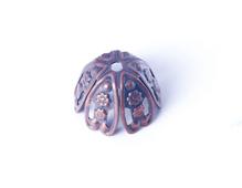 206046 Capuchon metalico cono cobrizo envejecido Innspiro - Ítem
