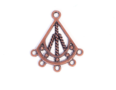 206151 Figura montaje metalica campana cobriza envejecida Innspiro