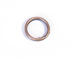 208032 208031 A208031 A208032 Anilla metalica redonda doble dorada envejecida Innspiro