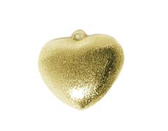 A210007 210007 Colgante metalico cobre pulido corazon dorado Innspiro