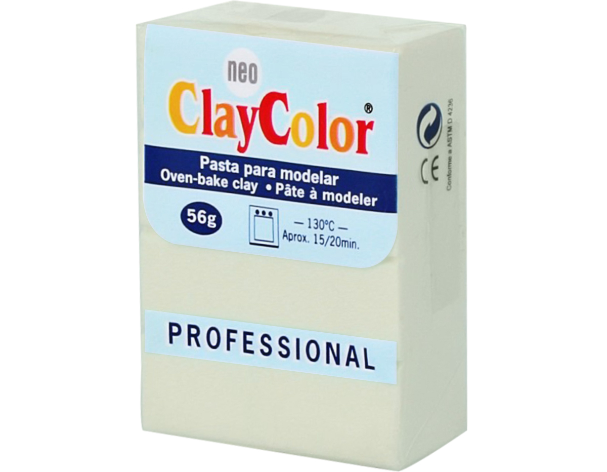 2102 Pasta polimerica Basicos ivori ClayColor