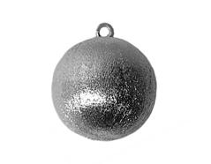 A210401 210401 Colgante metalico cobre pulido bola plateado envejecido Innspiro