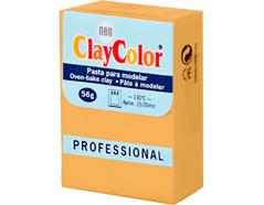 2105 Pasta polimerica Basicos calabaza ClayColor