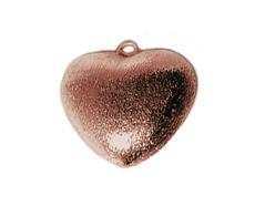 A210607 210607 Colgante metalico cobre pulido corazon cobrizo envejecido Innspiro