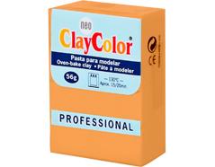 2106 Pasta polimerica Basicos naranja ClayColor