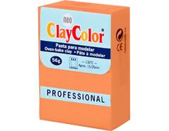2107 Pasta polimerica Basicos naranja oscuro ClayColor