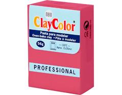 2108 Pasta polimerica Basicos fucsia ClayColor