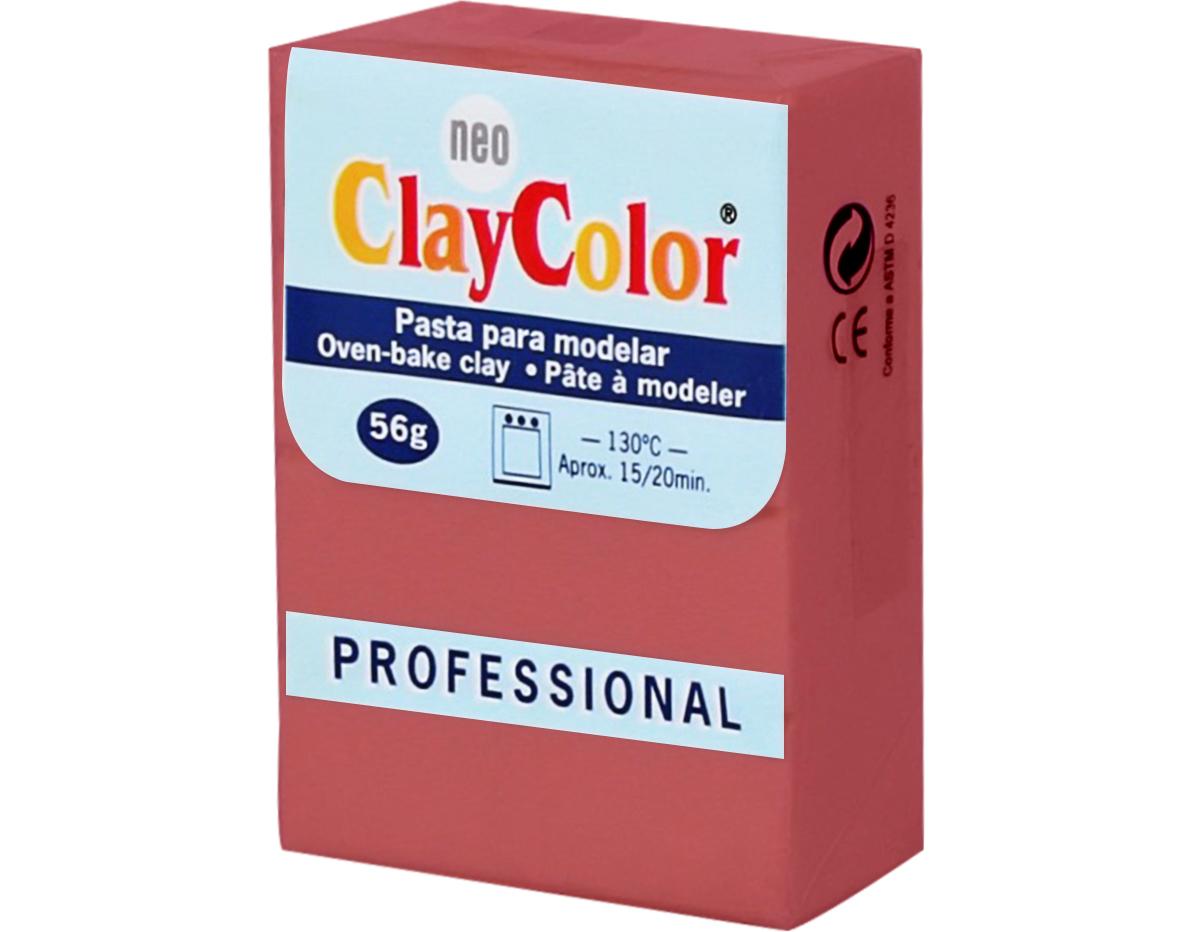 2109 Pasta polimerica Basicos rojo ClayColor