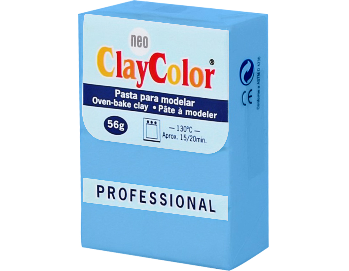 2111 Pasta polimerica Basicos turquesa ClayColor