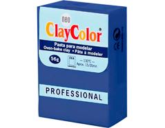 2112 Pasta polimerica Basicos azul marino ClayColor