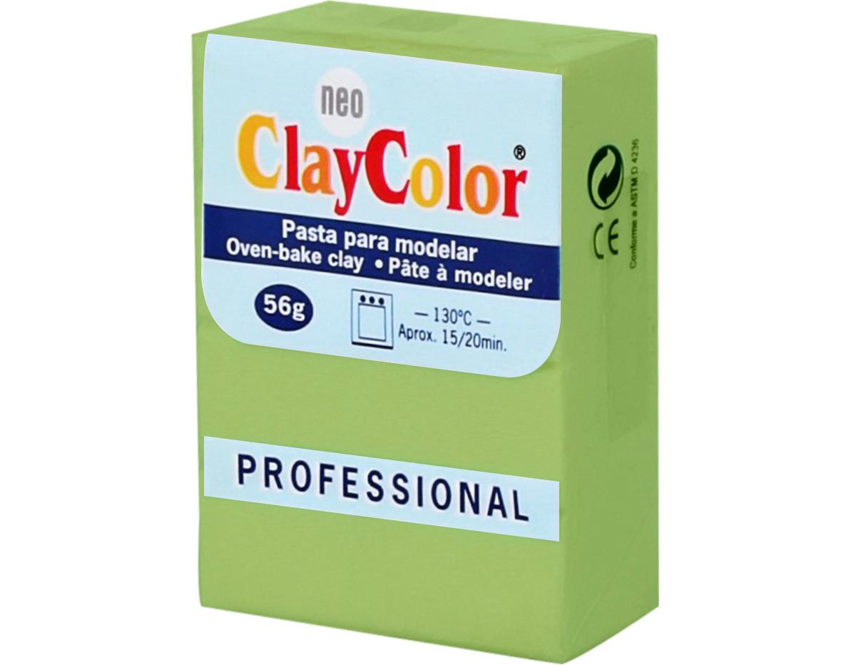2113 Pasta polimerica Basicos verde citrico ClayColor