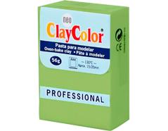 2113 Pasta polimerica Basicos verde citrico ClayColor - Ítem
