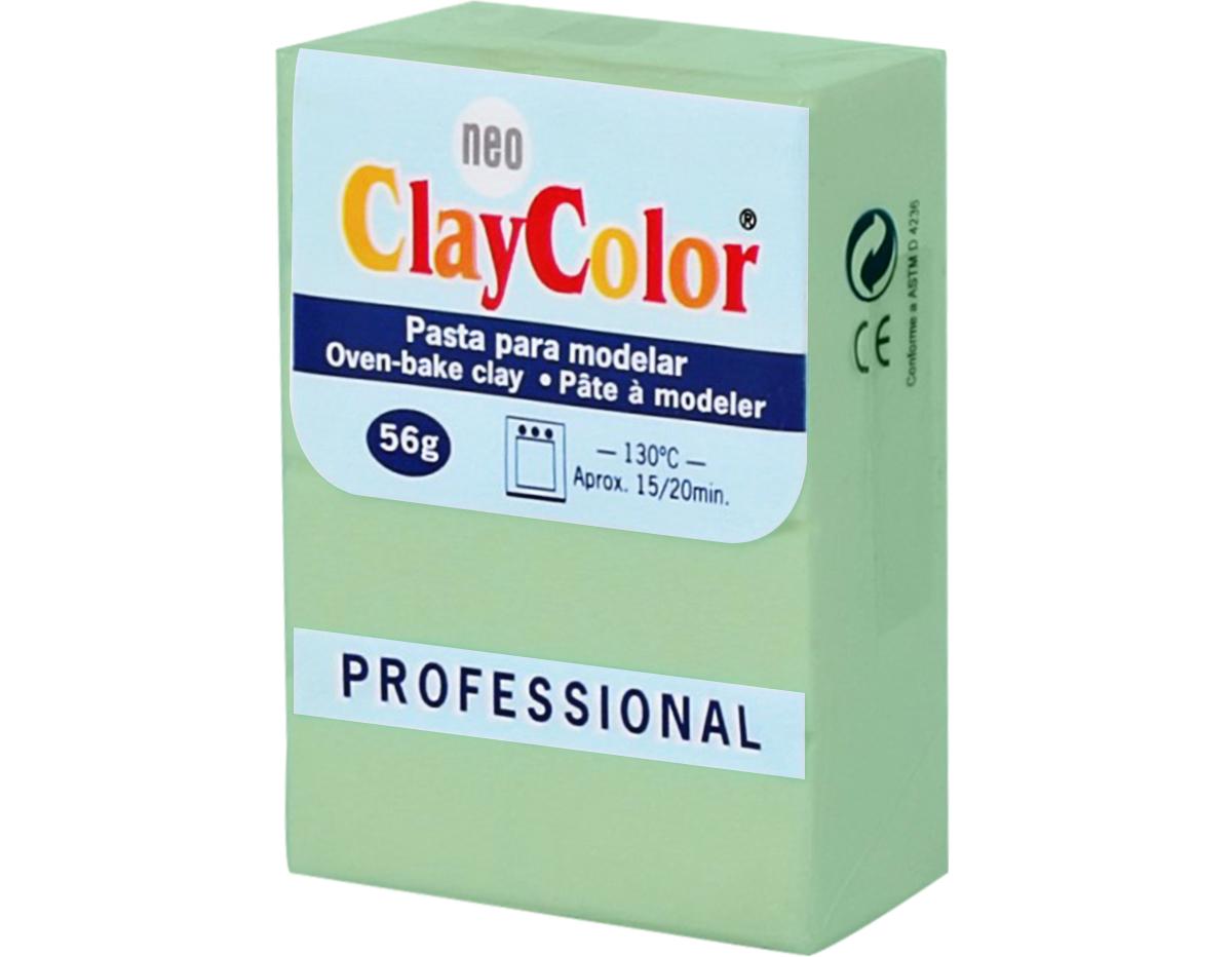 2114 Pasta polimerica Basicos verde manzana ClayColor
