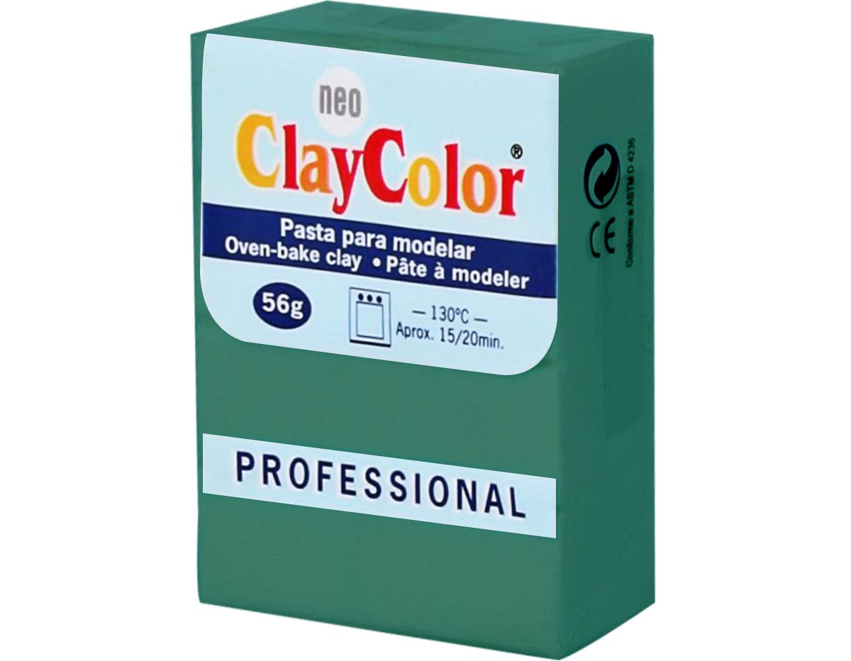2115 Pasta polimerica Basicos verde oscuro ClayColor
