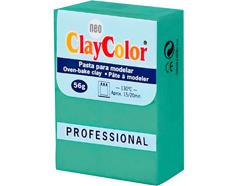 2116 Pasta polimerica Basicos verde hoja ClayColor