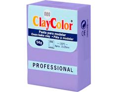 2119 Pasta polimerica Basicos lavanda ClayColor - Ítem