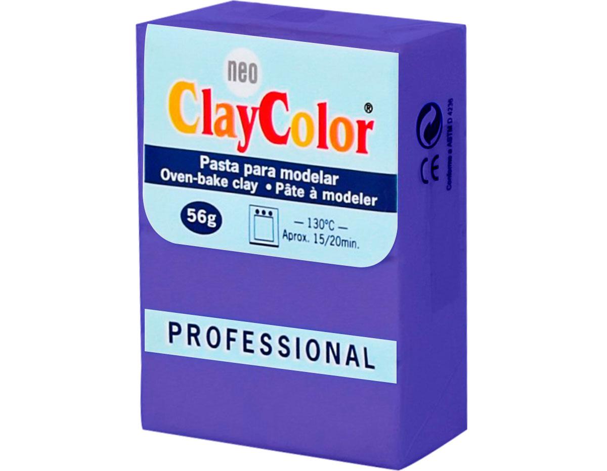 2120 Pasta polimerica Basicos lila ClayColor
