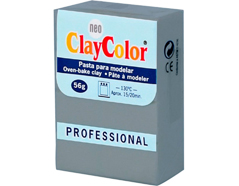 2124 Pasta polimerica Basicos gris ClayColor
