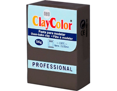 2125 Pasta polimerica Basicos chocolate ClayColor - Ítem