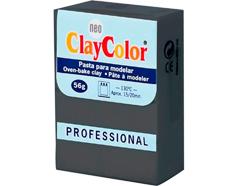 2126 Pasta polimerica Basicos gris oscuro ClayColor