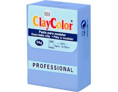 2127 Pasta polimerica Basicos azul grisaceo ClayColor
