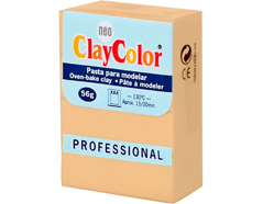 2128 Pasta polimerica Basicos carne ClayColor - Ítem