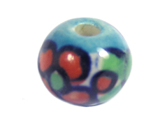 Z213509 213509 Cuenta ceramica bola esmaltada azul Innspiro - Ítem