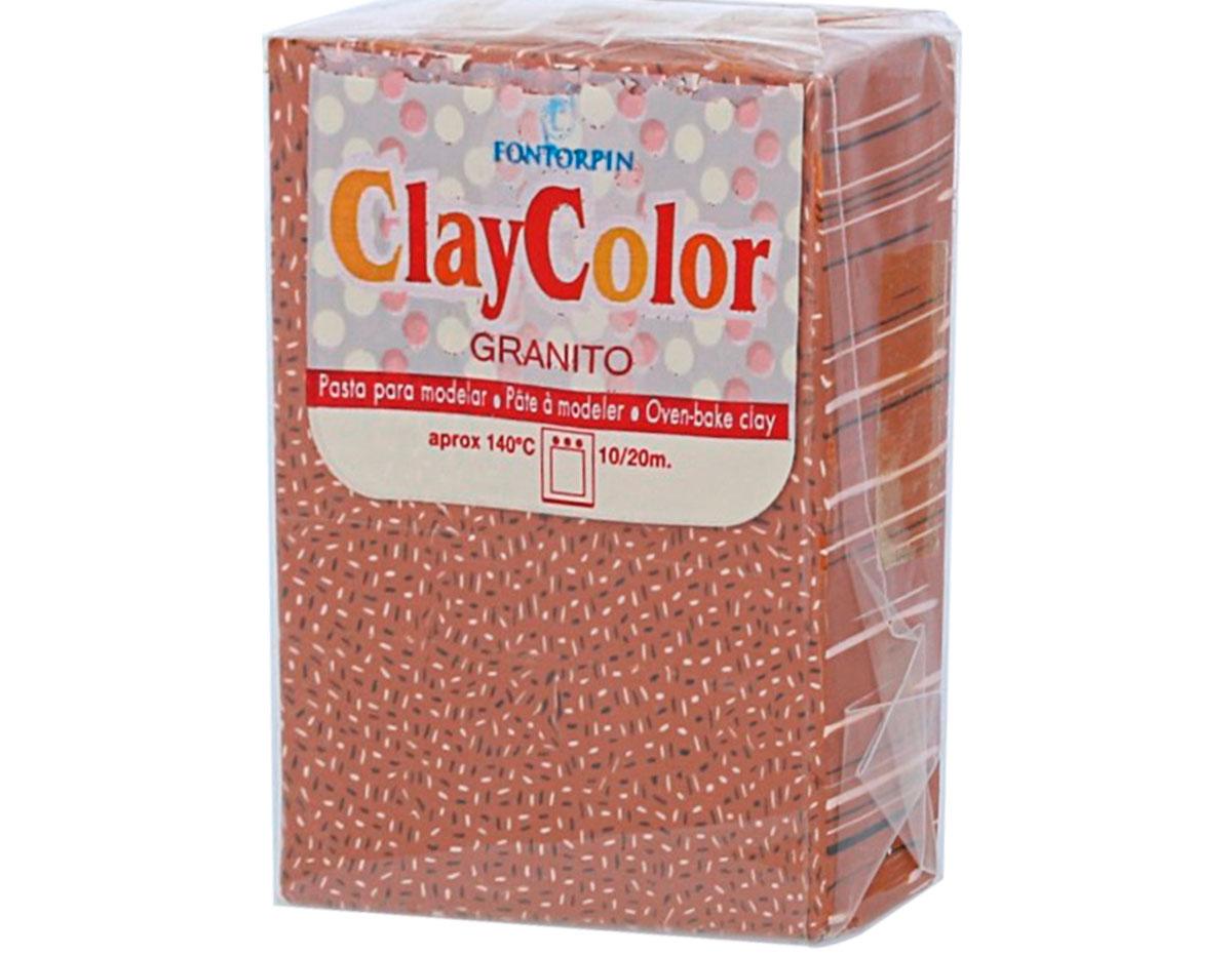 2142 Pasta polimerica Granito terracota ClayColor