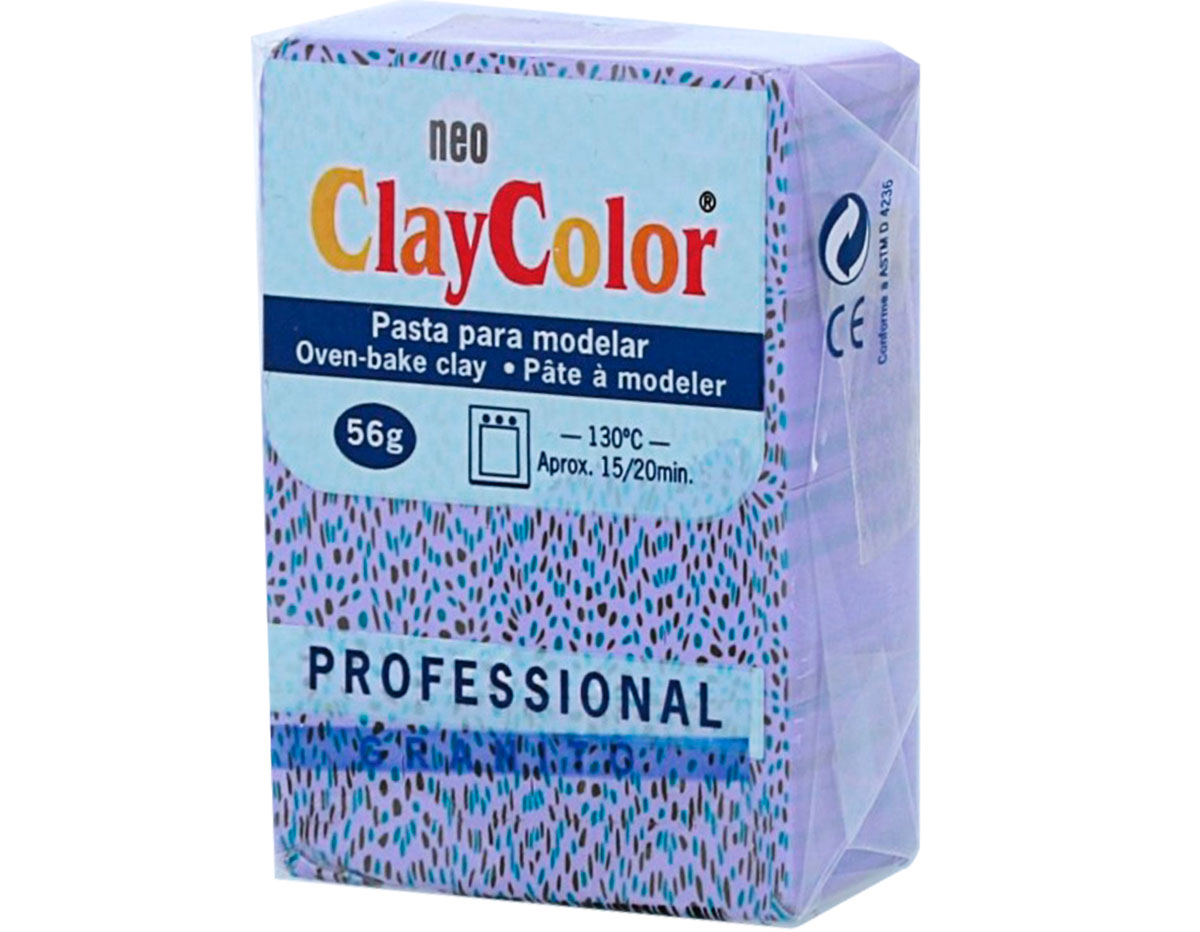 2143 Pasta polimerica Granito lila ClayColor
