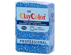 2144 Pasta polimerica Granito azul brillante ClayColor