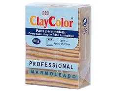 2147 Pasta polimerica Marmoleado ocre ClayColor