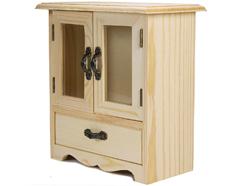 21518 Clasificador vitrina madera pino macizo Innspiro