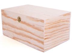 21527 21530 21529 Caja madera contrachapado de pino rectangular Innspiro