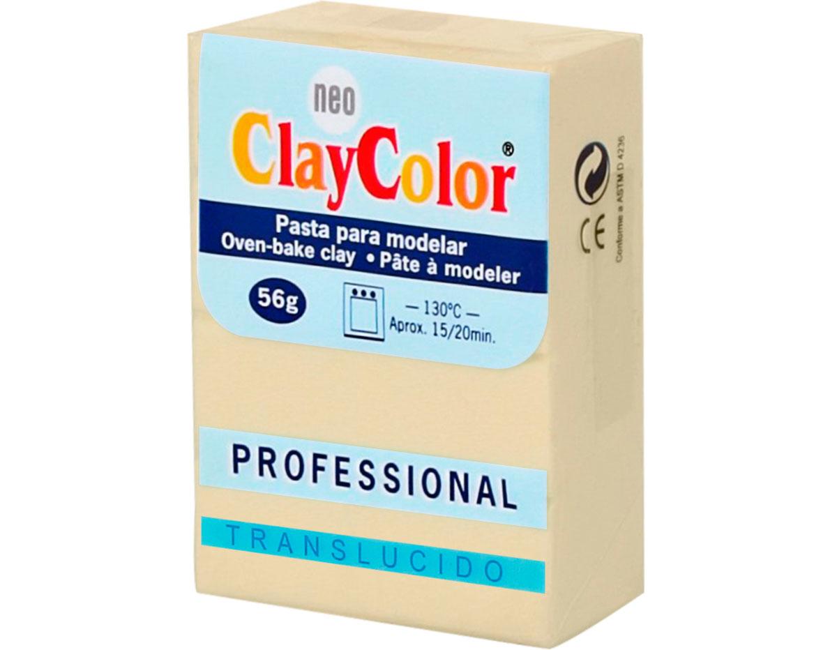 2152 Pasta polimerica Translucido melocoton ClayColor