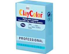 2153 Pasta polimerica Translucido azul claro ClayColor
