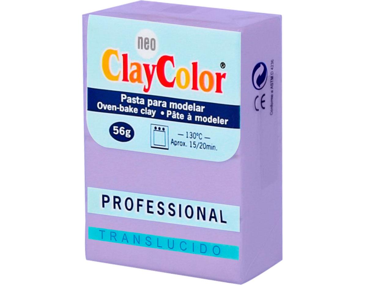 2154 Pasta polimerica Translucido lavanda ClayColor