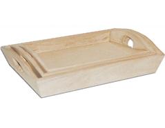 21557 Set de 3 bandejas madera de balsa angulo abierto Innspiro