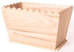 21568 Macetero madera de balsa 35x21 5x21cm Innspiro
