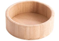 21611 Bandeja madera de balsa redonda pequena Innspiro