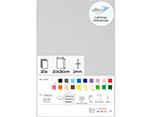 21999 Set 20 laminas goma eva surtido colores adhesivas 20x30cm 2mm Innspiro - Ítem1