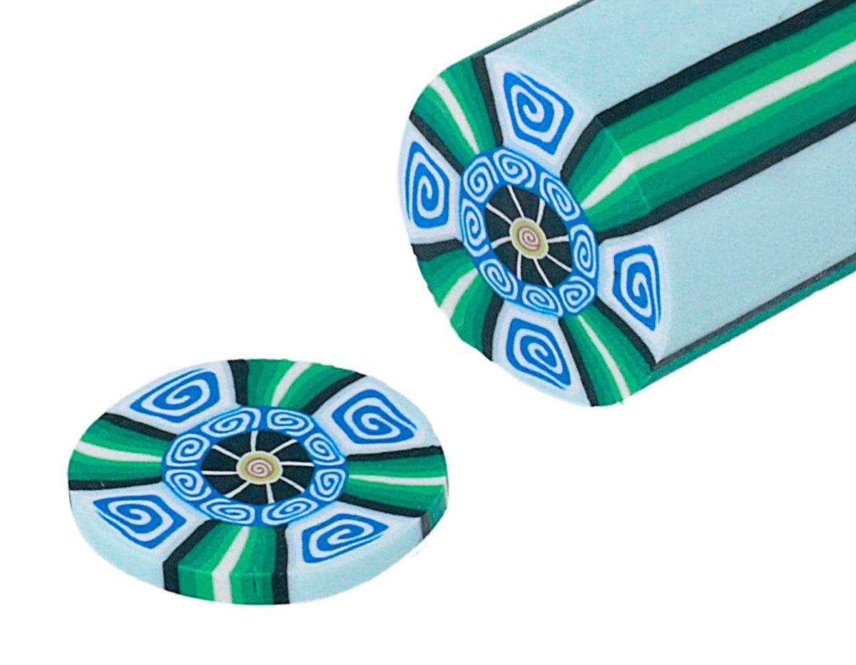 2216 Barra milflores espiral azul ClayColor