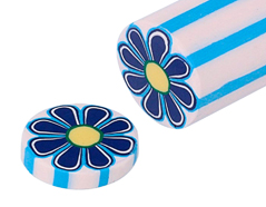2223 Barra milflores flor azul ClayColor